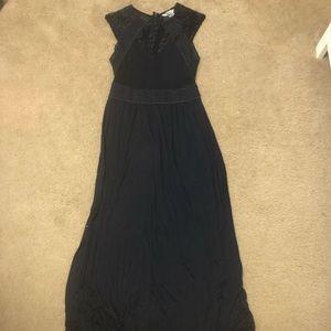 H&M Navy Maxi Dress Size XS